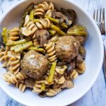 "30-Minute Meal: ""Meatball"" Stroganoff"
